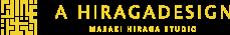 ア ヒラガデザイン ロゴ